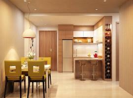 Phòng ăn căn hộ Laviat Garden