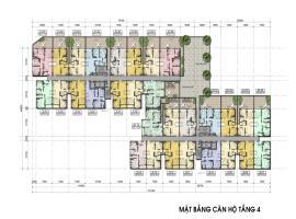 Mặt bằng tầng 4 căn hộ Auris city