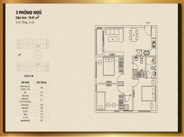 B5 - Tầng 6-21 Căn hộ Dream Home Palace