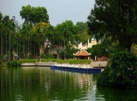 Công viên nước Đầm Sen mát mẻ gần dự án
