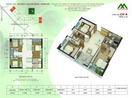 Căn hộ A2 Block K tầng 12-Chung cư Xuân Mai Sparks Tower - Tầng: 12