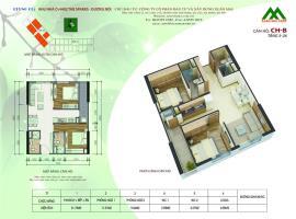 Căn hộ B4 Block K tầng 12-Chung cư Xuân Mai Sparks Tower - Tầng: 12