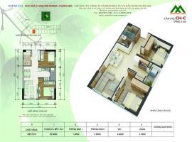 Căn hộ C1 Block K tầng 12-Chung cư Xuân Mai Sparks Tower - Tầng: 12