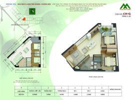 Căn hộ G1 Block K tầng 12-Chung cư Xuân Mai Sparks Tower - Tầng: 12