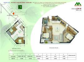 Căn hộ H1 Block K tầng 12-Chung cư Xuân Mai Sparks Tower - Tầng: 12