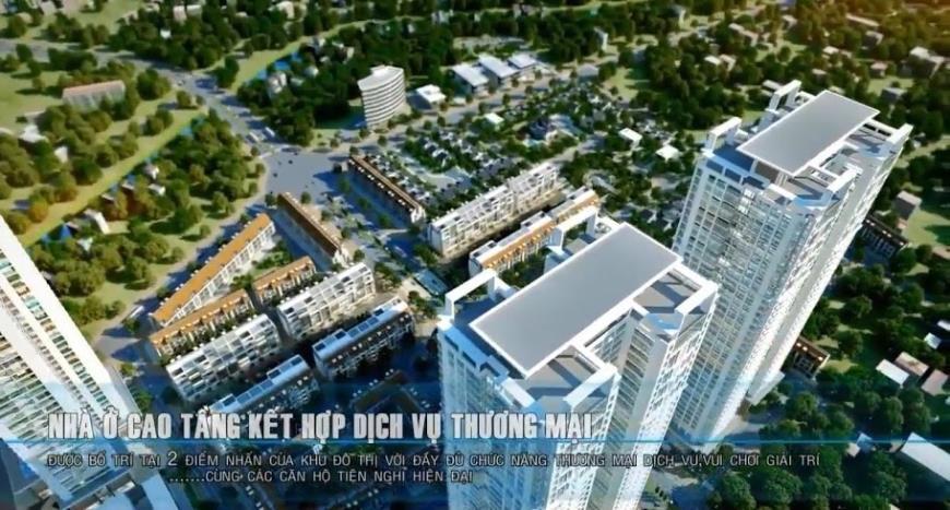 Nhà ở cao tầng kết hợp với dịch vụ thương mại