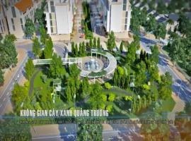 Không gian xây xanh quảng trường
