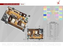 P10 Tòa A tầng 8-AZ Sky Định Công - Tầng: 8