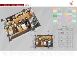P11 Tòa A tầng 8-AZ Sky Định Công - Tầng: 8