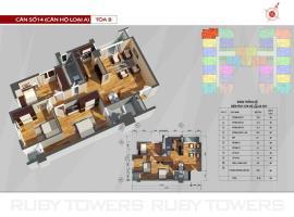 P14 Tòa A tầng 8-AZ Sky Định Công - Tầng: 8