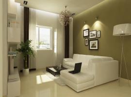 Không gian phòng khách chung cư Ruby Towers