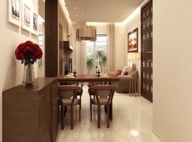 Phòng ăn chung cư Ruby Towers
