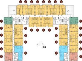 Mặt bằng tầng điển hình dự án Athena Complex