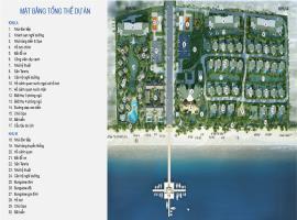 Mặt bằng tổng thể dự án Blue Sapphire Resort Vũng