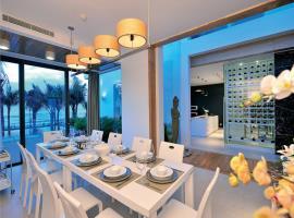 Phòng ăn tại biệt thự Blue sapphire
