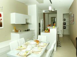 Phòng bếp và phòng ăn cho gia đình tại dự án Blue