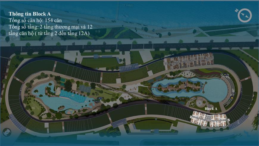 Hình ảnh Block A dự án River City