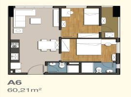 A6 Căn hộ 9 View Apartment - Tầng: 10