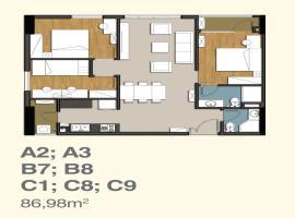 A3 Căn hộ 9 View Apartment - Tầng: 10