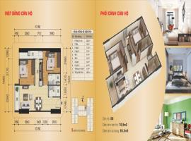 Căn hộ 02 tòa B, diện tích 70,9 m2