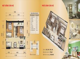 Căn hộ 8C, 4C, 4A, 8A, diện tích 72,0 m2