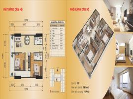 Căn hộ số 05B' tòa B, diện tích 79,5 m2