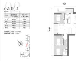 Căn 03 Tòa S2 tầng 12