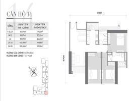 Căn 14 Tòa S2 tầng 12