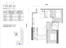 Căn 16 Tòa S2 tầng 12