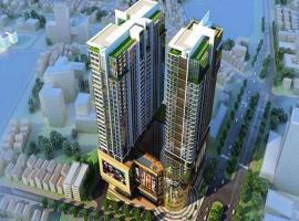 Phối cảnh tổng thể dự án Vinhome Phạm Hùng