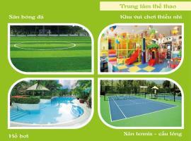 Khu thể thao tổng hợp trong dự án