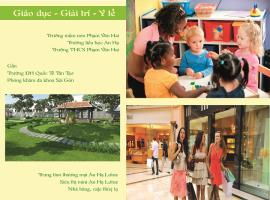 Trường học, nhà hàng, khu vui chơi giải trí