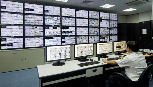 Hệ thống camera tại dự án Vinhomes Thăng Long