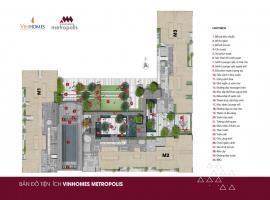 Bản đồ tiện ích dự án Vinhomes Metropolis Liễu Gia