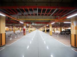 Tầng hầm tại dự án Vinhomes Metropolis Liễu Giai