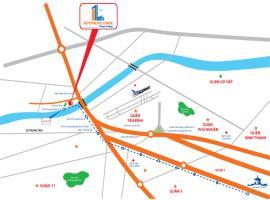 Vị trí dự án Depot Metro Tham Lương