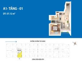 Căn hộ 01 A1 dự án Depot Metro Tham Lương
