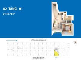 Căn hộ 01 A2 dự án Depot Metro Tham Lương