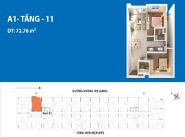 Căn hộ 11A1 dự án Depot Metro Tham Lương