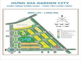 Mặt bằng phân lô dự án KĐT Hưng Gia Garden city
