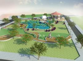 Vườn thượng uyển KĐT Hưng Gia Garden city