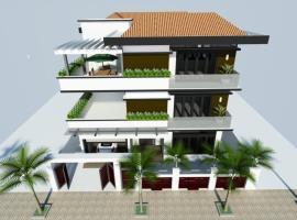 Hình ảnh 2 mẫu biệt thự 4 tầng
