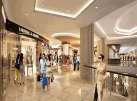 Trung tâm mua sắm tại KĐT An Bình Tân