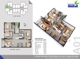 Căn A01 Chung cư Thanh Xuân Complex tầng 14