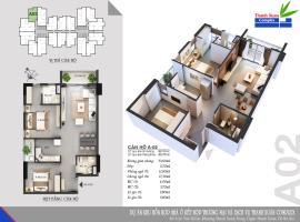 Căn A02 Chung cư Thanh Xuân Complex tầng 8