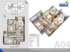 Căn A04 Chung cư Thanh Xuân Complex tầng 14
