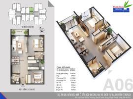Căn A06 Chung cư Thanh Xuân Complex tầng 8