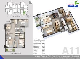 Căn A11 Chung cư Thanh Xuân Complex tầng 8