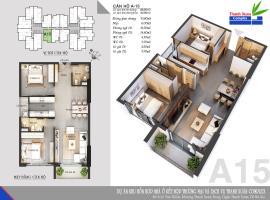 Căn A15 Chung cư Thanh Xuân Complex tầng 14