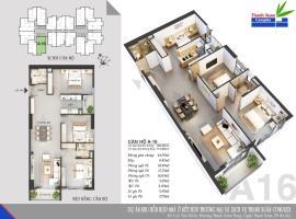 Căn A16 Chung cư Thanh Xuân Complex tầng 14